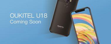 El Oukitel U18 (5.85″, 4GB RAM, 4000 mAh y diseño de iPhone X) sale a la venta por 130 euros