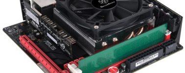 SilverStone Argon AR 11: Disipador de perfil bajo que soporta CPUs de hasta 95W