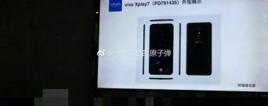 El Vivo Xplay7 busca ser el primer smartphone con 10GB de RAM y 512GB de almacenamiento