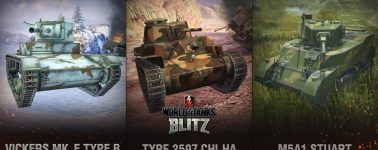World of Tanks Blitz se actualiza para meter diez tanques chinos