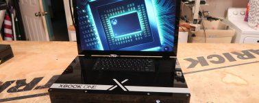 """Así es la Xbook One X, la Xbox One X convertida en una consola """"portátil"""""""