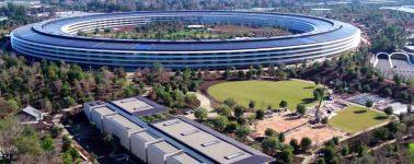 Apple muestra su Apple Park prácticamente acabado a vista de dron