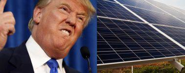 Trump podría recortar en más de 1.500 millones de dólares el presupuesto para energías renovables
