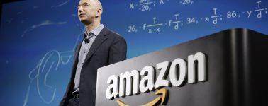 Jeff Bezos, el CEO de Amazon, gana más de 231.000 dólares al minuto, 10.000 millones de dólares al mes