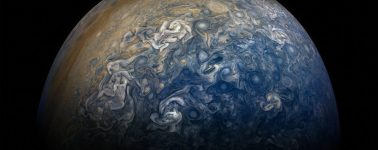 La NASA publica nuevas fotos de Júpiter tomadas por la sonda Juno