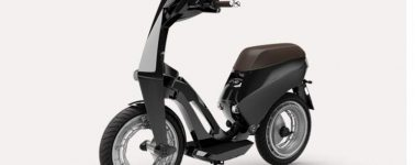 'Ujet', una estilosa motocicleta eléctrica completamente plegable