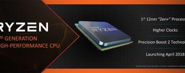 El AMD Ryzen 5 2600 es un 14.5% más rápido por núcleo respecto al Ryzen 5 1600