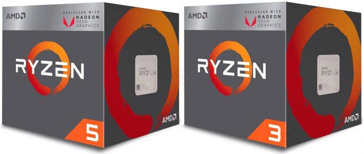 AMD Ryzen 5 2400G y Ryzen 3 2200G 740x314 0