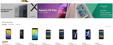 Amazon rebaja el precio de una gran cantidad de smartphones para celebrar el Mobile World Congress