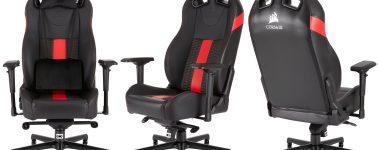 Corsair T2 Road Warrior: Nueva familia de sillas gaming 'Premium'