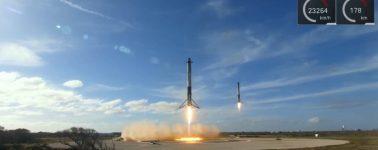 SpaceX hace historia, ya se puede pensar en la conquista del espacio