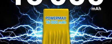 Energizer Power Max P16K Pro: Un 5.99″ con SoC Helio P25, 6GB RAM y batería de 16.000 mAh