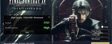 Ya puedes descargar la herramienta de benchmarking del Final Fantasy XV: Windows Edition