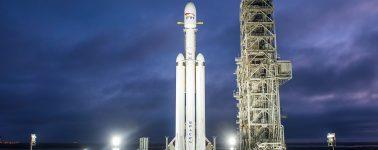 Lanzamiento del Falcon Heavy, el cohete de SpaceX que nos llevará a Marte