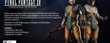Ya disponible la demo del Final Fantasy XV en Steam: 21GB de peso y texturas 4K