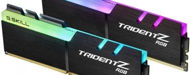 G.Skill Trident Z RGB DDR4-4700, las memorias RAM DDR4 más rápidas del mundo