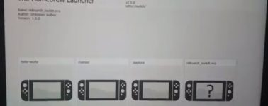 Lanzado el Homebrew Launcher de la Nintendo Switch