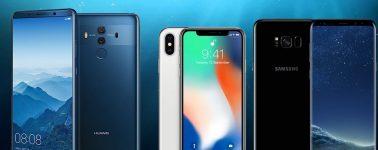 Huawei supera a Samsung, ya es el fabricante que más smartphones vende en España