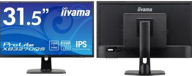 Iiyama ProLite XB3270QS: Un IPS de 31.5″ con resolución WQHD por 354 euros
