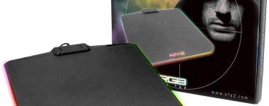 KFA2 SNPR RGB: Alfombrilla gaming con iluminación RGB por sólo 19.95 euros