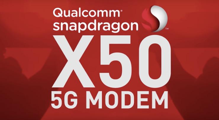 Modem Snapdragon X50 5G LTE 740x407 0