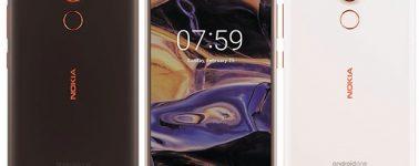 El Nokia 7 Plus posa ante la cámara, se presentaría en la Mobile World Congress
