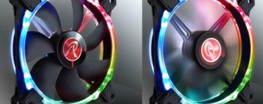 Raijintek Macula 12 Rainbow RGB: Ventiladores RGB con 300 modos de iluminación
