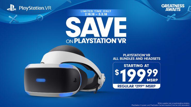 Sony PlayStation VR oferta 740x416 0