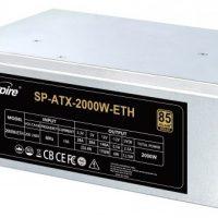 Spire SP-ATX-2000W-BTC/ETH: Fuente de alimentación de 2000W para mineros