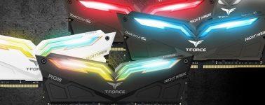 Team Group T-Force Nighthawk RGB & T-Force Xtreem: Memorias que alardean de diseño