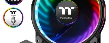 Thermaltake Riing Plus 20 RGB TT Premium: Ventilador de 200 mm con iluminación RGB