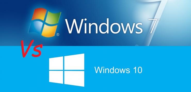 Windows 7 vs Windows 10 740x357 0