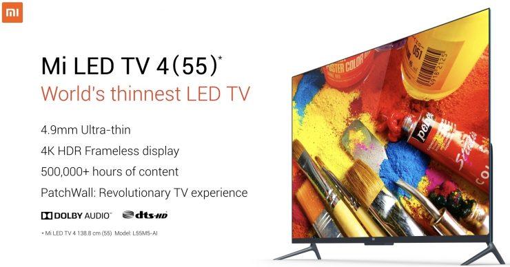 Xiaomi Mi LED TV 4 740x388 0