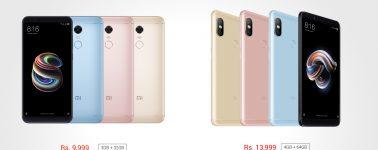 Xiaomi Redmi Note 5 Pro y Redmi Note 5 lanzados oficialmente