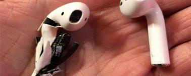 Un usuario afirma que sus Apple AirPods explotaron mientras los usaba