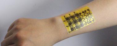 Crean una piel electrónica reciclable capaz de curarse a sí misma