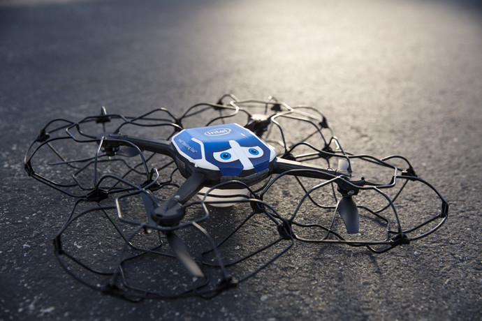 intel drone show luces 1
