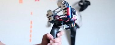 'Nyoibo', el accesorio para Realidad Virtual que nos permite sentir el peso de los objetos
