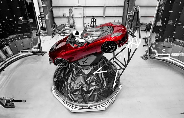 spacex tesla roadster falcon heavy 740x476 0