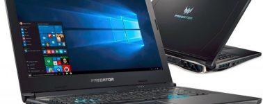 El Acer Predator Helios 500 tiene una variante que usa una AMD Radeon RX Vega 56