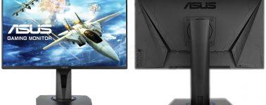 Asus VG255H: Un monitor gaming enfocado, sin éxito, a los usuarios con consola