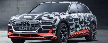Audi e-tron quattro concept: El primer vehículo eléctrico de Audi tiene 503cv y tecnología autónoma