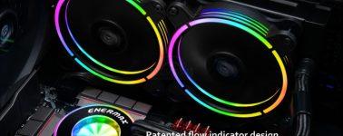 Enermax LiqFusion 240: Líquida con indicador de flujo e iluminación RGB