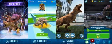 Jurassic World Alive anunciado: Un Pokémon Go con dinosaurios