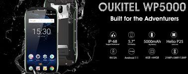El Oukitel WP5000 (5.7″, Helio P25 y 6GB RAM) se deja ver en vídeo demostrando su resistencia