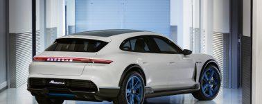 Porsche Mission E Cross Turismo: Un SUV eléctrico que busca competir con el Tesla Model X