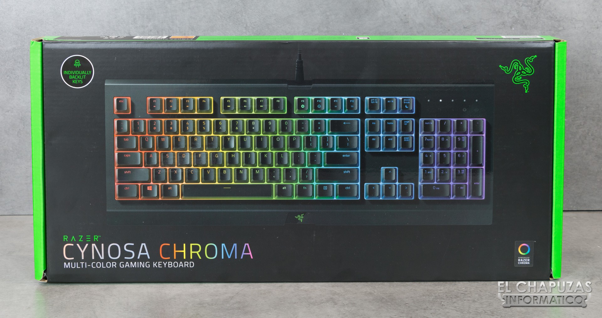 Review Razer Cynosa Chroma