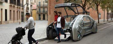 Renault EZ-GO: Un vehículo completamente autónomo pensado para movernos en ciudad