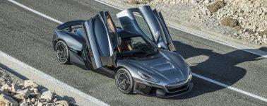 El Rimac C_Two quiere ser el vehículo eléctrico más rápido del mundo con sus 1.940 CV