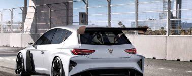 SEAT Cupra e-Racer: Un turismo de competición eléctrico de 670cv de potencia